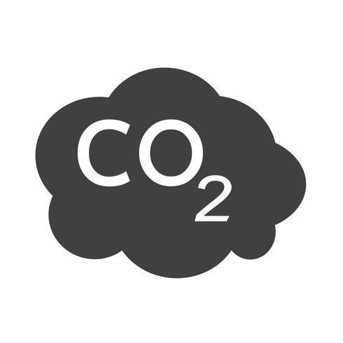 CO2 icon  symbol sign