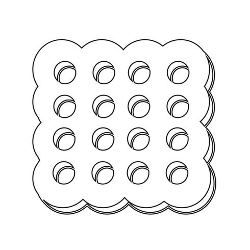 cookie icon  symbol sign