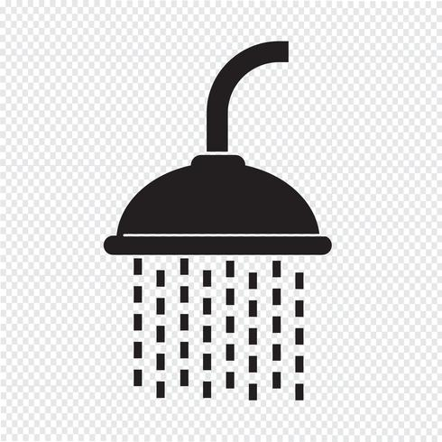 Showerhead icon  symbol sign
