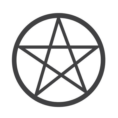 Pentagram icon  symbol sign