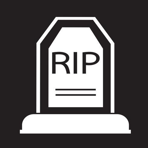 Grave Icon  symbol sign