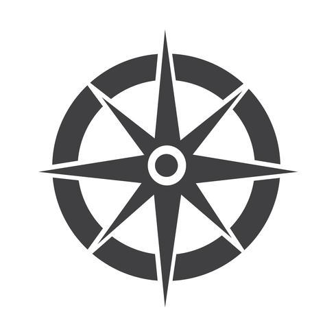 Boussole icône symbole signe