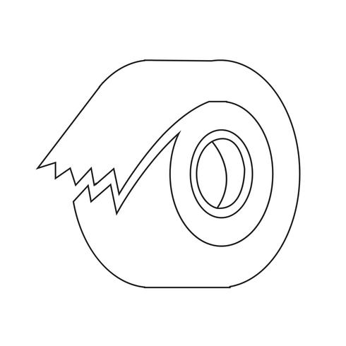 tape icon  symbol sign