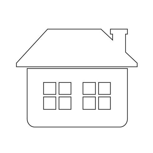 ícone de casa sinal de símbolo