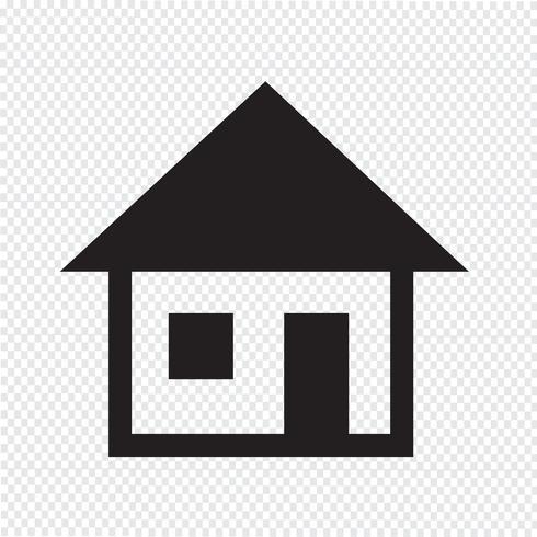 House icon symbol tecken