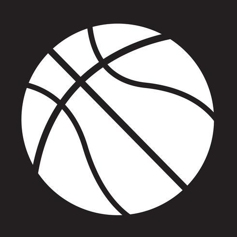 basket-ball icône symbole signe