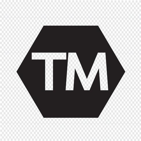 varumärkes knapp symbol tecken