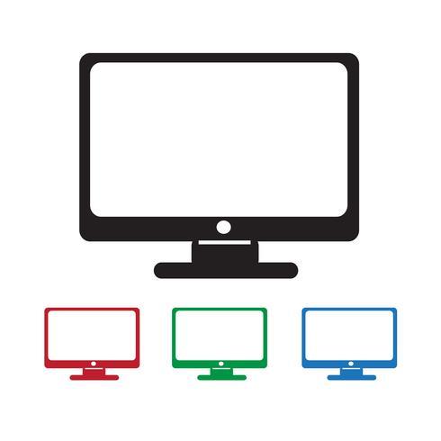 monitor pictogram symbool teken