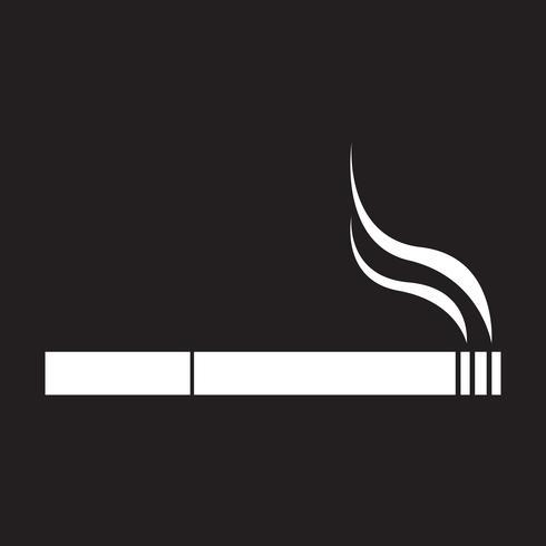Cigarette icon  symbol sign vector