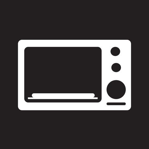 segno di icona del forno