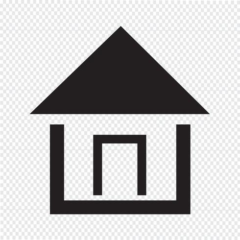 hem ikon symbol tecken