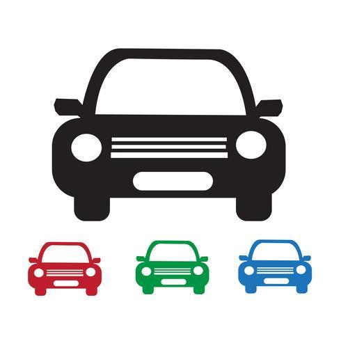 Car segno simbolo icona