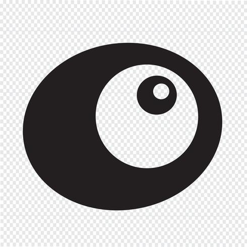 ovo ícone símbolo sinal
