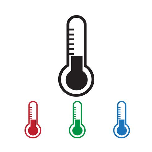 Thermometer icon  symbol sign vector