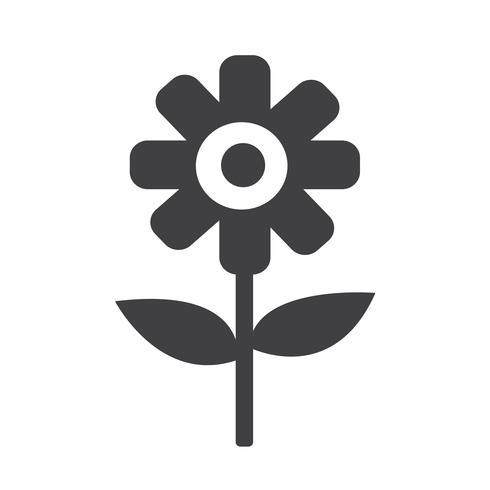 Flower icon  symbol sign