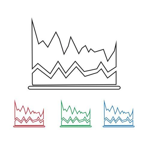grafiek pictogram symbool teken