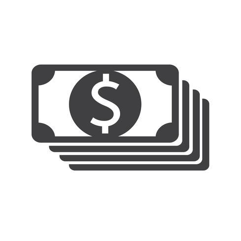 icono de dinero símbolo signo