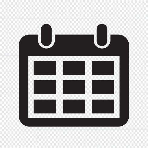 Simbolo De Calendario.Icona Del Calendario Simbolo Segno Scarica Immagini