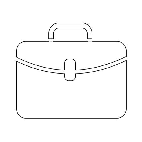 Aktenkoffer Symbol Symbol Zeichen