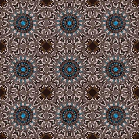 Bordure ornement floral de cercle abstract vector. Motif de dentelle. Ornement blanc sur fond bleu. Cadre de bordure ornementale de vecteur. Peut être utilisé pour des bannières, des sites Web, des cartes de mariage et autres