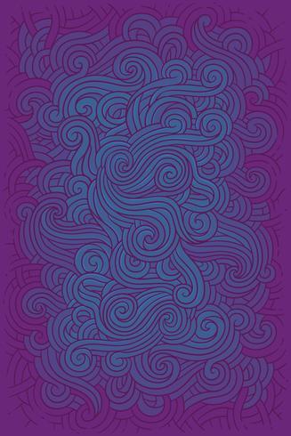 Vektorillustrations-Hippiehintergrund I