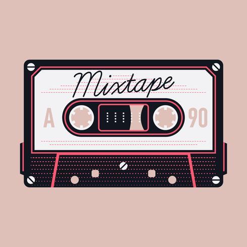 Mixtape-Kompakt-Audiokassette