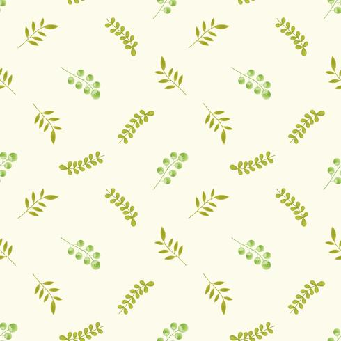 cute flower pattern seamless for summer , autumn ,spring  vector