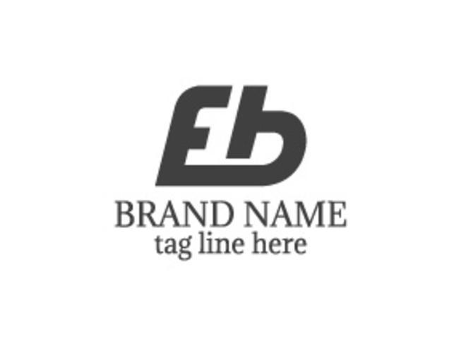 Logotipo de la letra EB