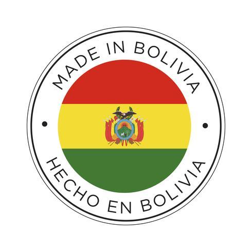 Feita no ícone de bandeira da Bolívia.