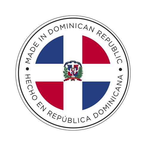 Made in Dominican flag icon.