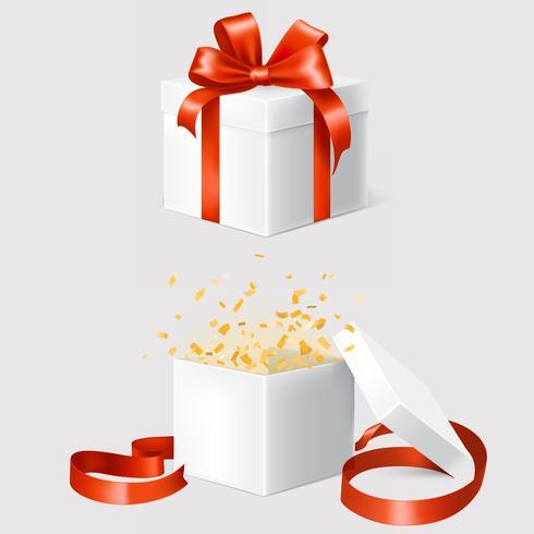 Set van twee geschenkdozen
