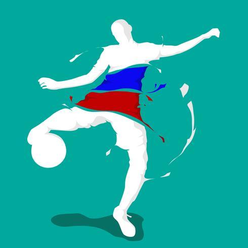 calcio calcio splash nazione bandiera Francia