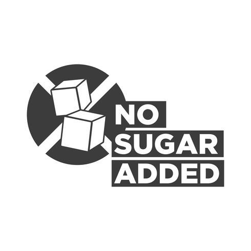 Sugar free icon.
