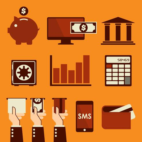 Banking vector illustration