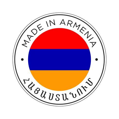 made in Armenia flag icon.