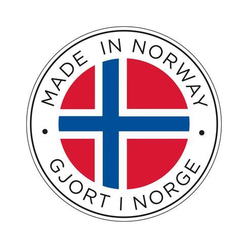 Made in Norway Kennzeichnungssymbol.