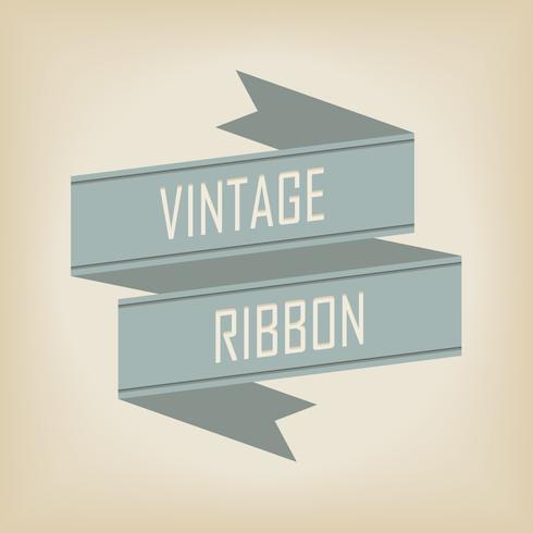 ribbon banner. Vector illustration.