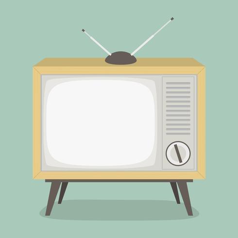 Televisão - ilustração vetorial.
