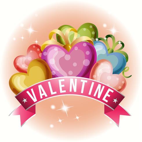 carta di San Valentino con amore bundle