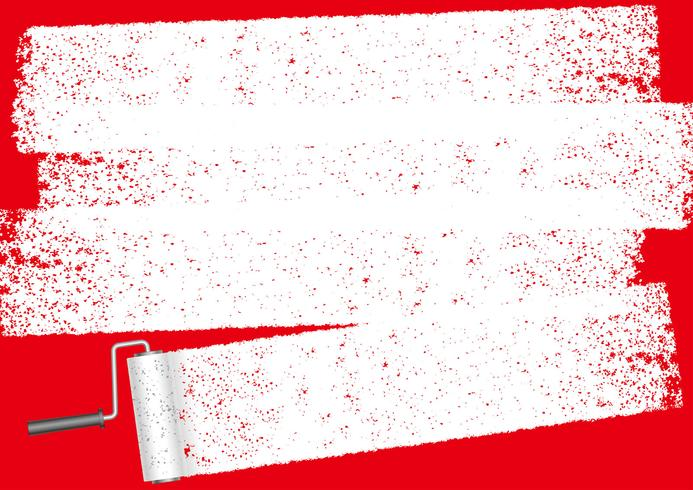 Paint roller abstract background with text space.