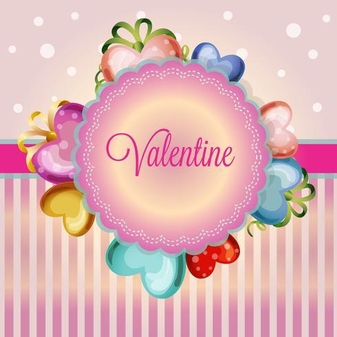 San Valentino carino amore decorazione
