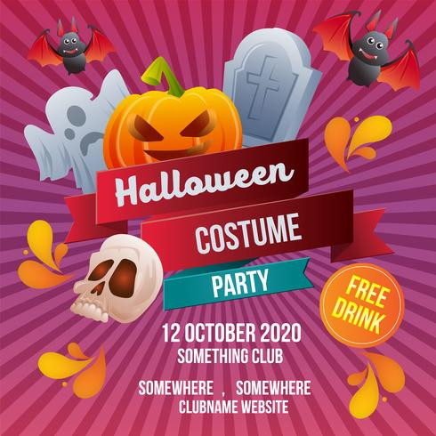 halloween kostym party mall