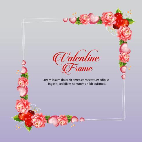 cadre camélia valentine