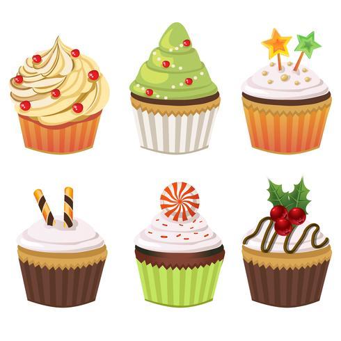 collection de petits gâteaux de noël