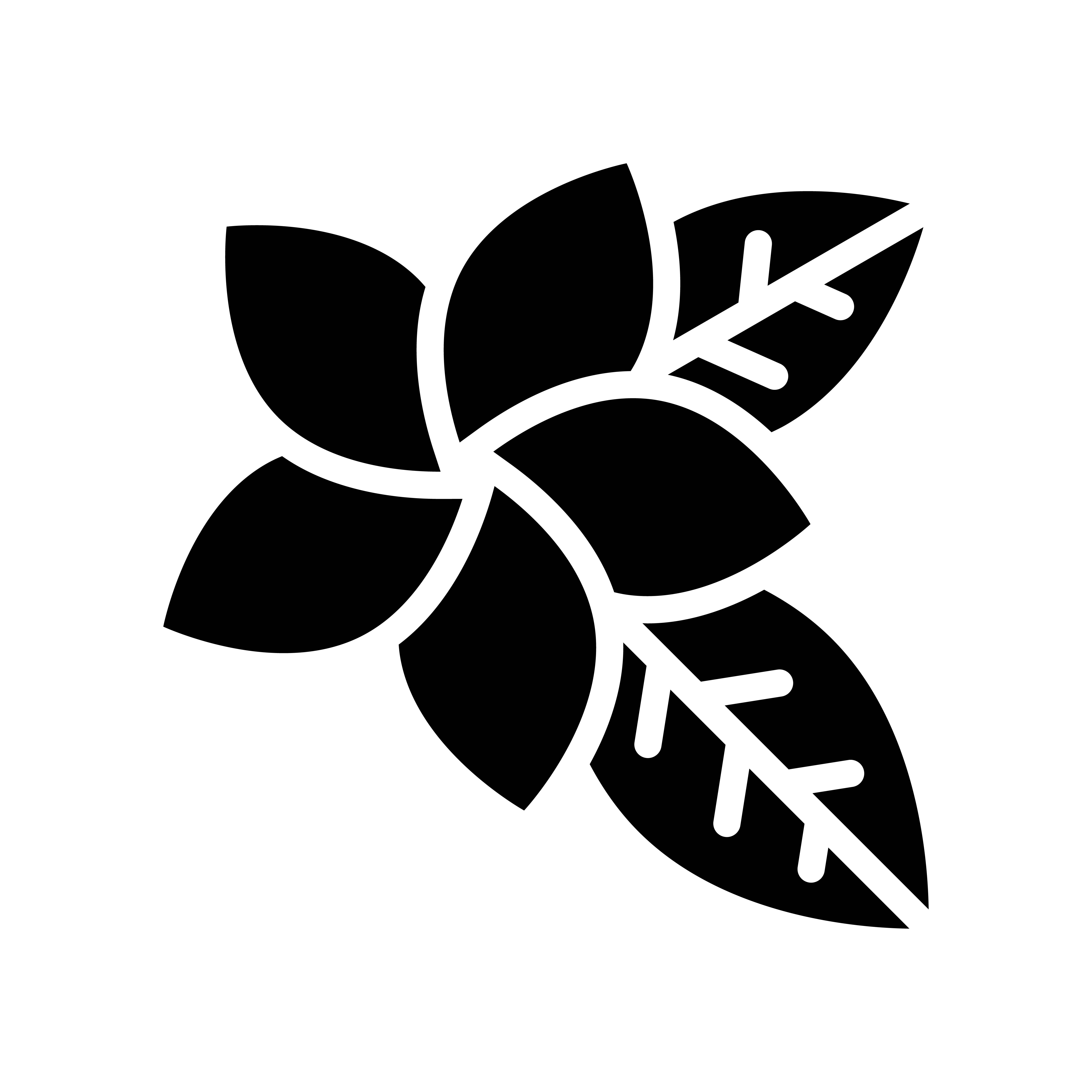 Plumeria Vector, Tropical Related Solid Style Icon