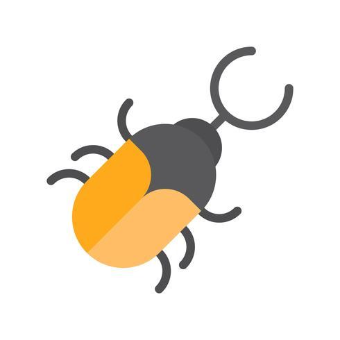 Käfervektor, tropische in Verbindung stehende flache Artikone