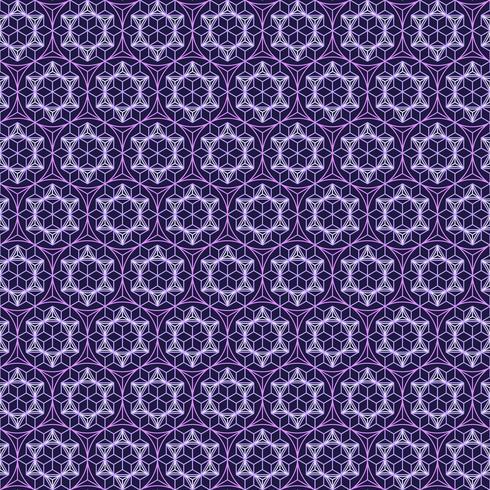 Línea de polígono y fondo transparente. vector