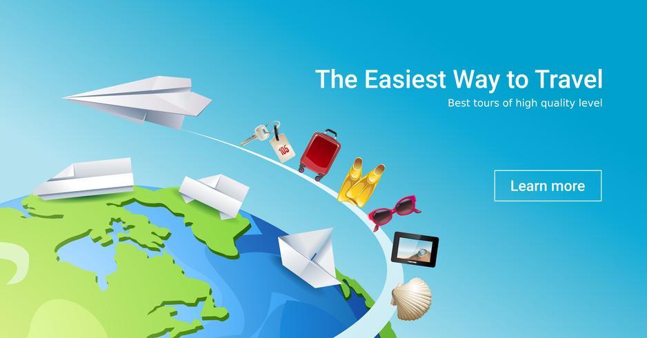 Lade Seite Website, um touristische Dienstleistungen anzubieten