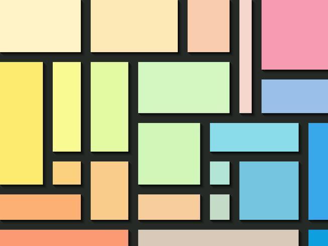 Rechteck färbt abstrakten Hintergrund.