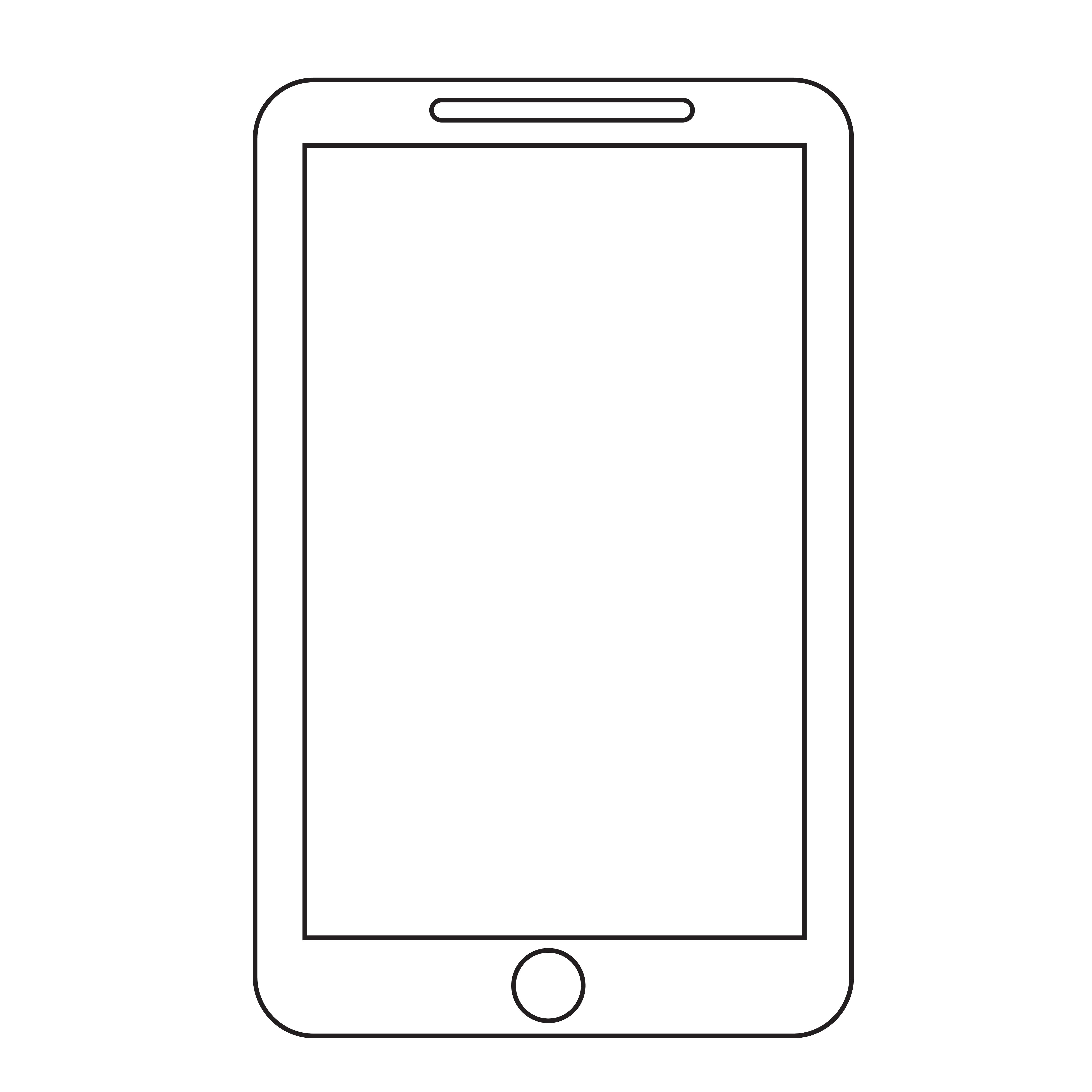 smartphone icon symbol sign - Download Free Vectors ...